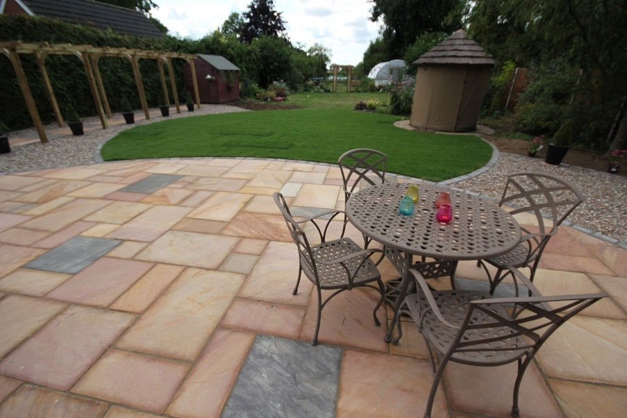 A patio we installed in 2016.
