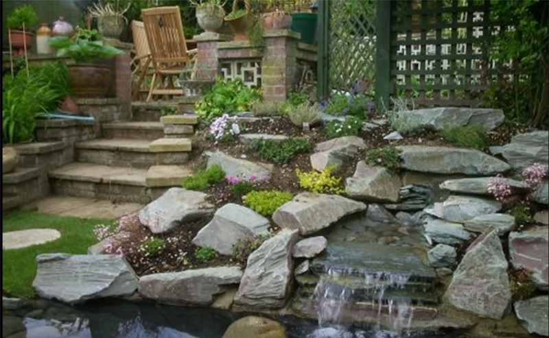 Garden rockery design ideas for Garden design ideas rockery