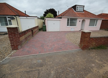 Driveway and Disabled Access Patio in Old Catton