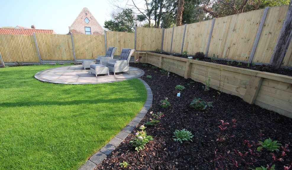 Full garden re-design Norfolk